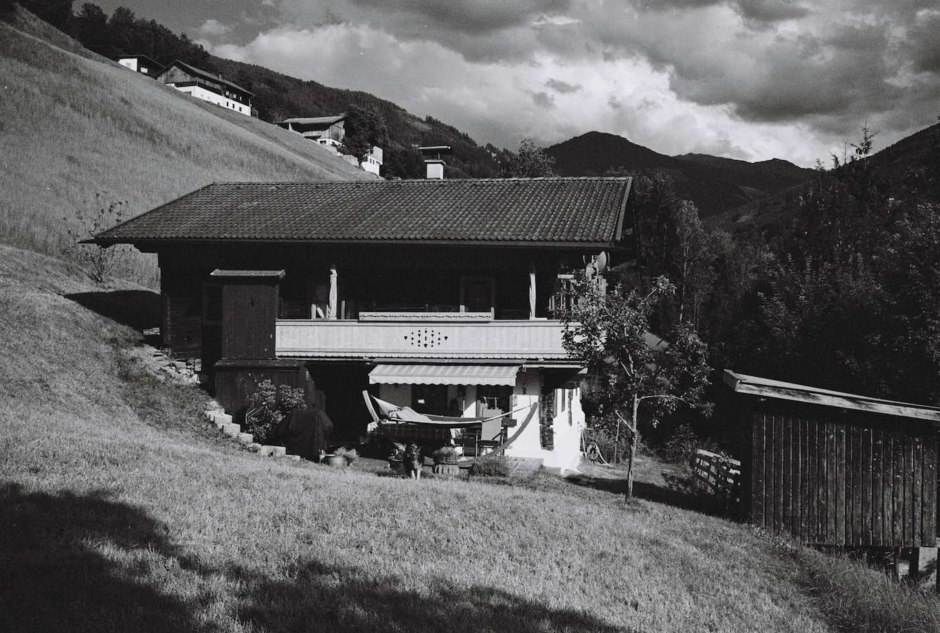 Mountain hut - Kodak Tri-X